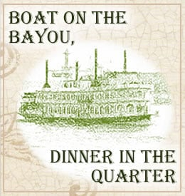 Boat on the Bayou, Dinner in the Quarter - A Student Charity Event