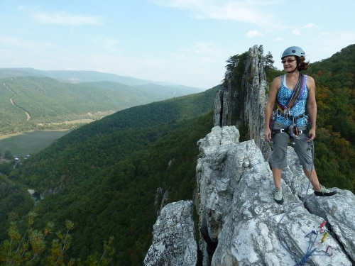 south peak in the gunks
