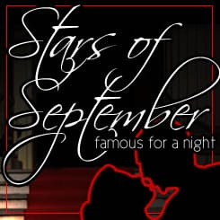 Stars of September, Famous for a Night - Student Charity Dining Event - September 15, 2012