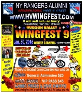 Wingfest & Winter Carnival in Newburgh, NY